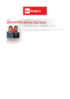 2021.03.24 RAI RADIO 2 – DECANTER
